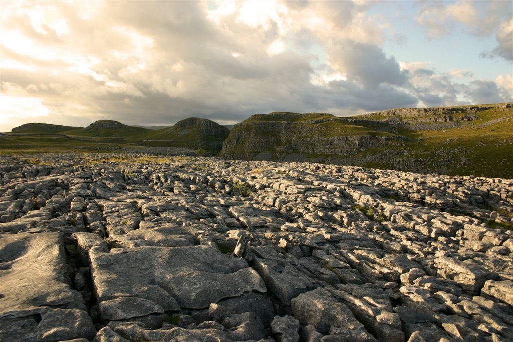 Limestone Pavement above Malham, Yorkshire Dales by Matt Jackson Life's Images