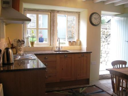 Kitchen, Rose Cottage, Malham, Yorkshire Dales