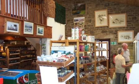 Yorkshire Dales, Town End Farm Shop
