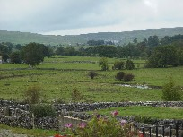 View from Town End towards Malham and Malham Cove, Yorkshire Dales